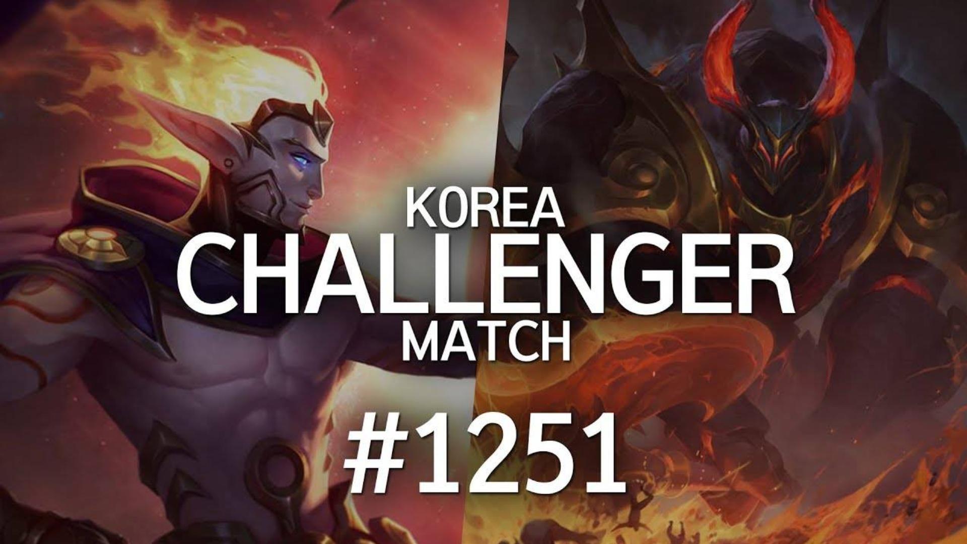 韩服最强王者菁英对决 #1251 | 起飞