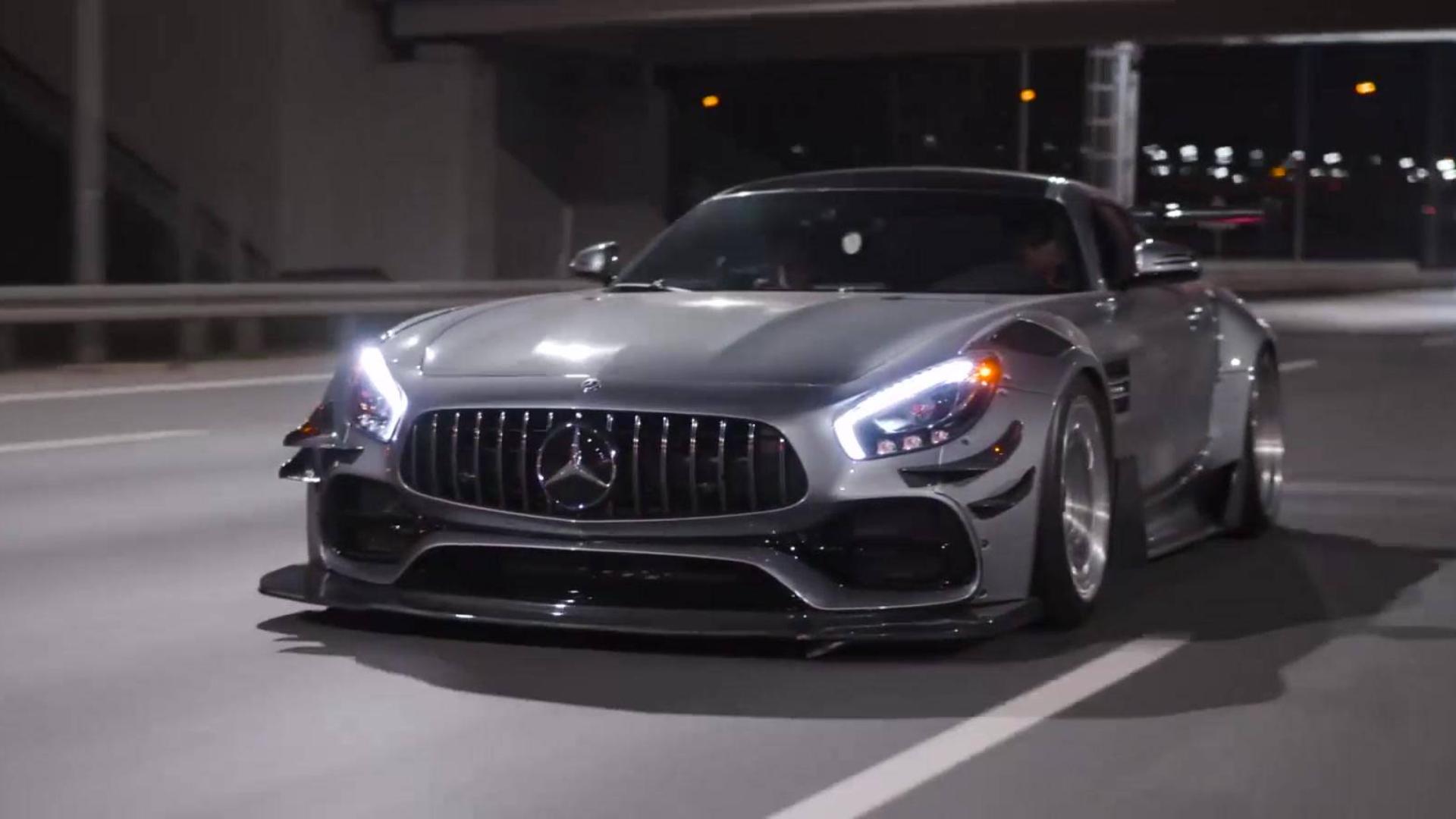 奔驰AMG GT 这是我见过改装最帅的