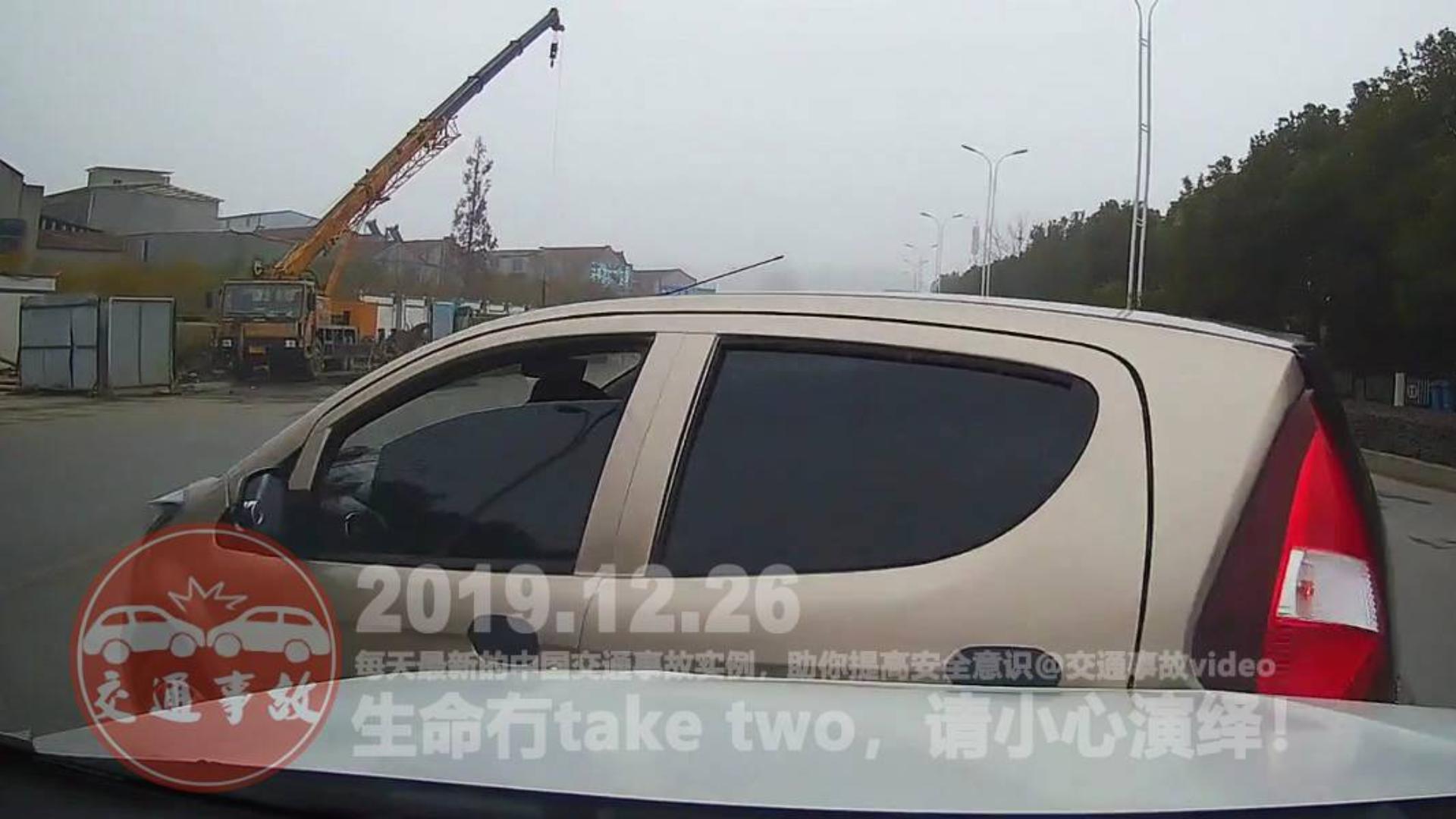 中国交通事故20191226:每天最新的车祸实例,助你提高安全意识