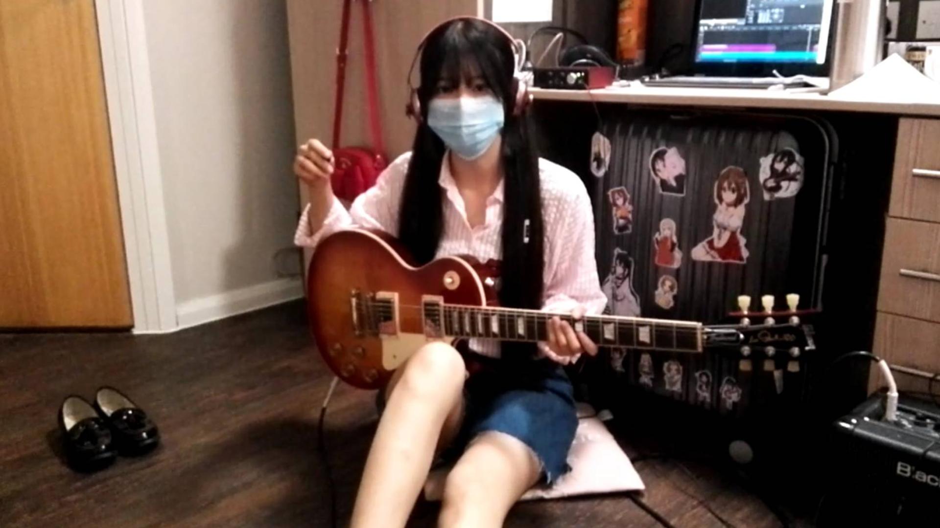 【阿琴】《魔卡少女樱》FRUITS CANDY 电吉他cover