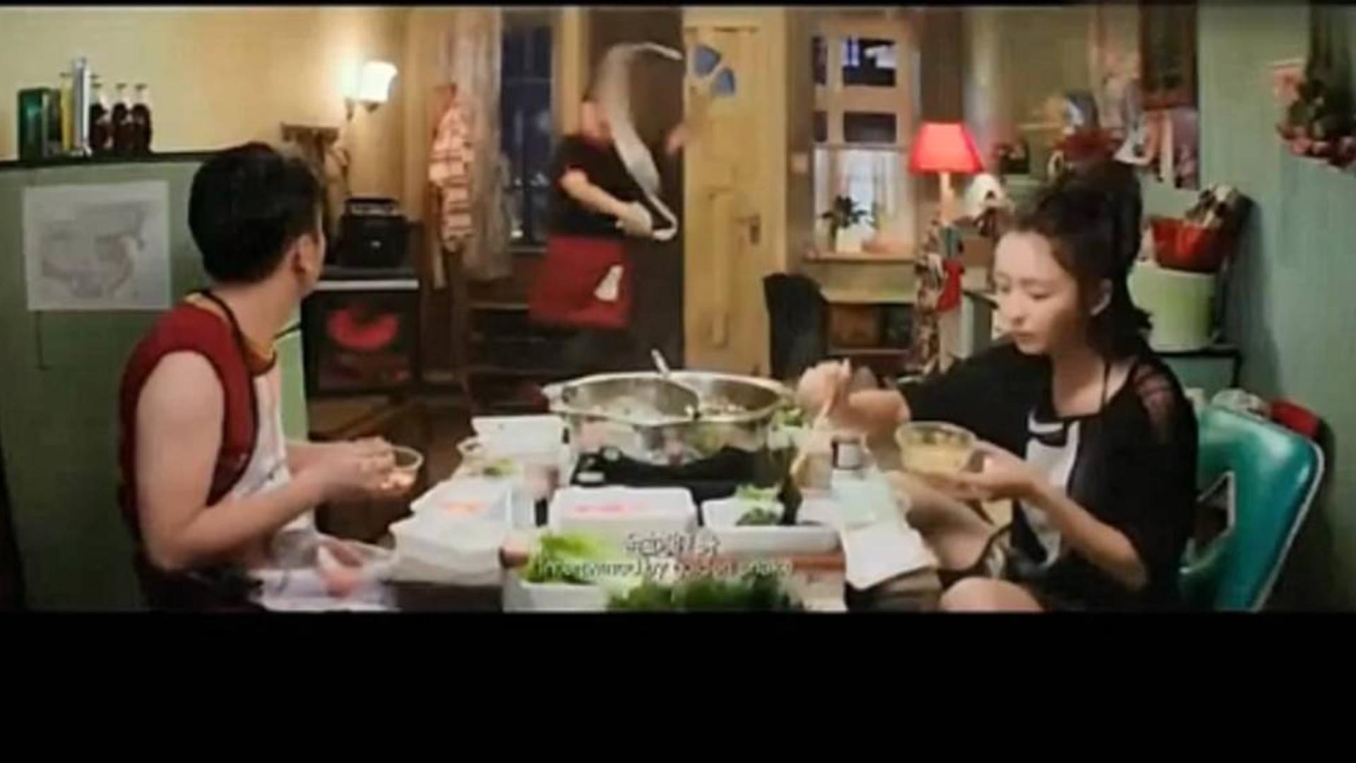 雷佳音和佟丽娅吃火锅,古天乐和张家辉吃面,看饿了