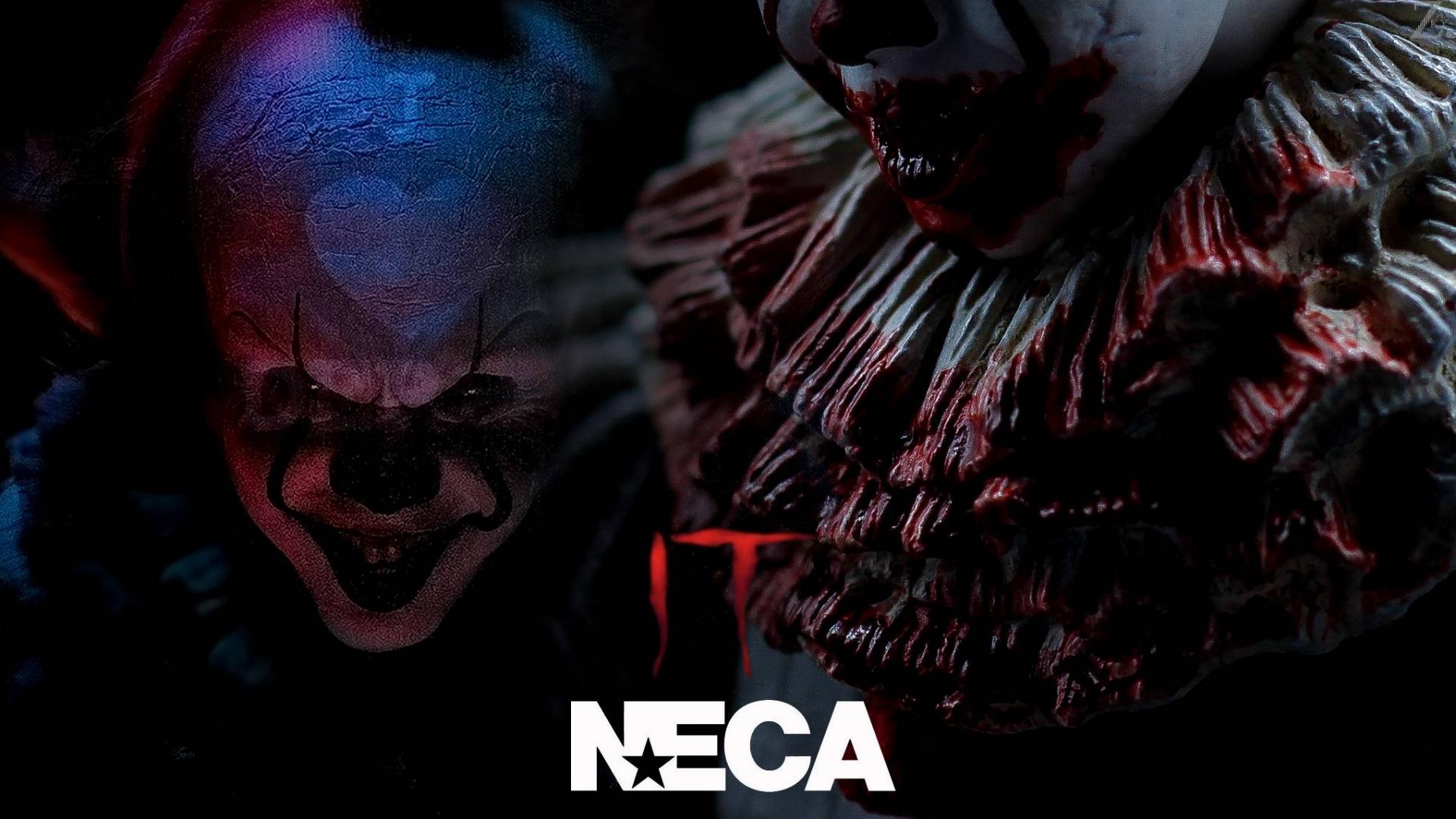 『渣J短评』NECA 小丑回魂 佩尼维斯 血腥版