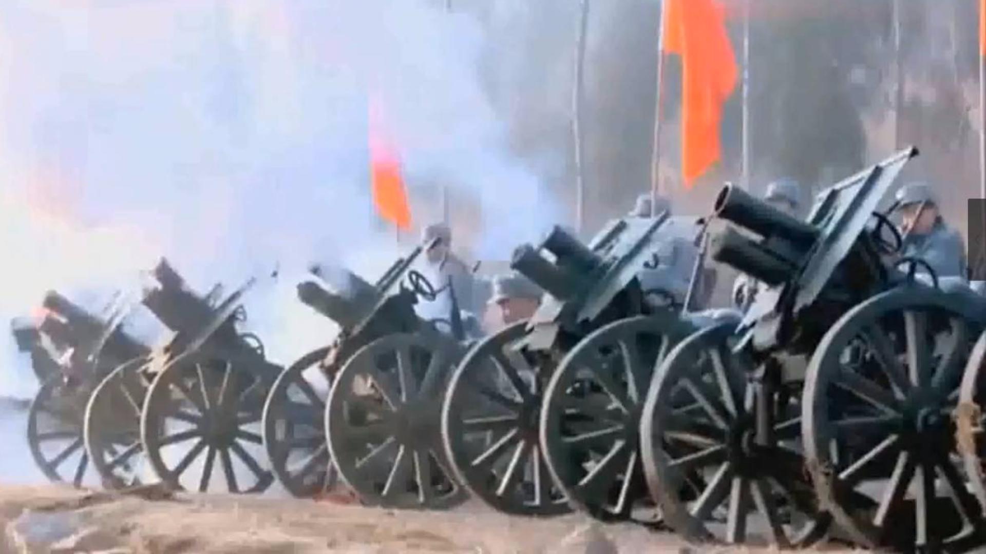 【抗日蕉易·第128期】人手一门炮的八路军,鬼子怎么打得过!