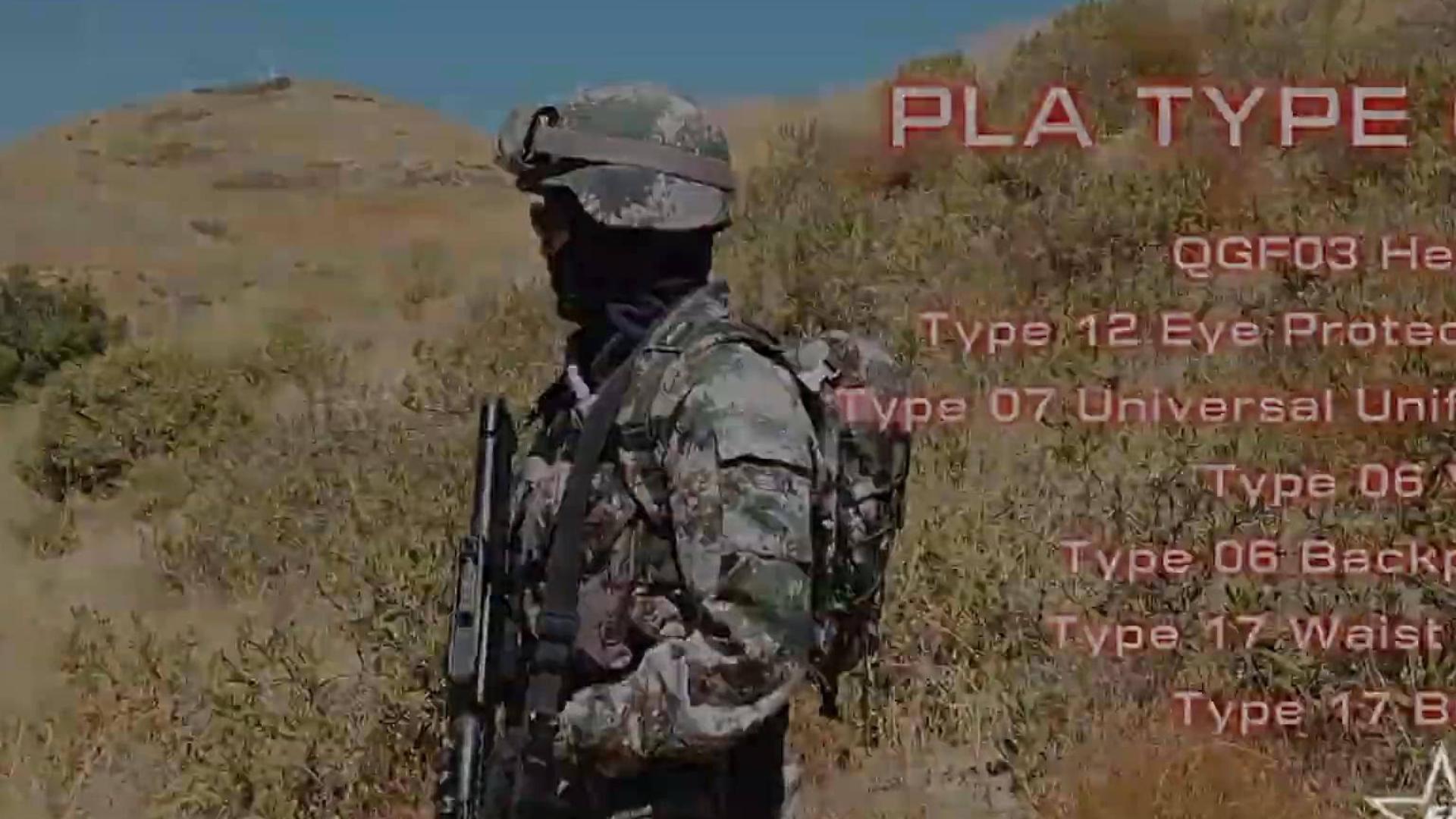 国外玩家 cos PLA wargame中一展强劲战力