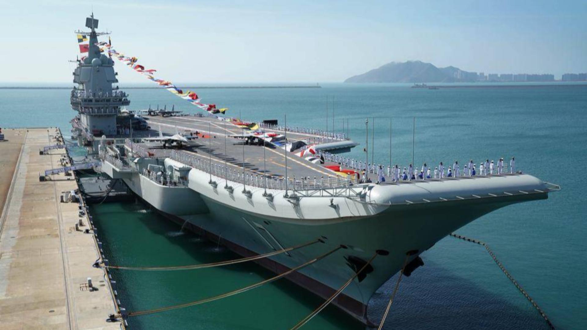 中国有,我也得有!山东舰服役引亚洲航母竞赛:6艘航母包围中国