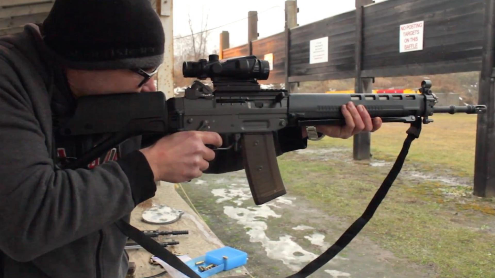 """瑞士军工/SIG SG550/PE90""""ClassicGreen""""步枪射击测评(年末打卡更新)"""