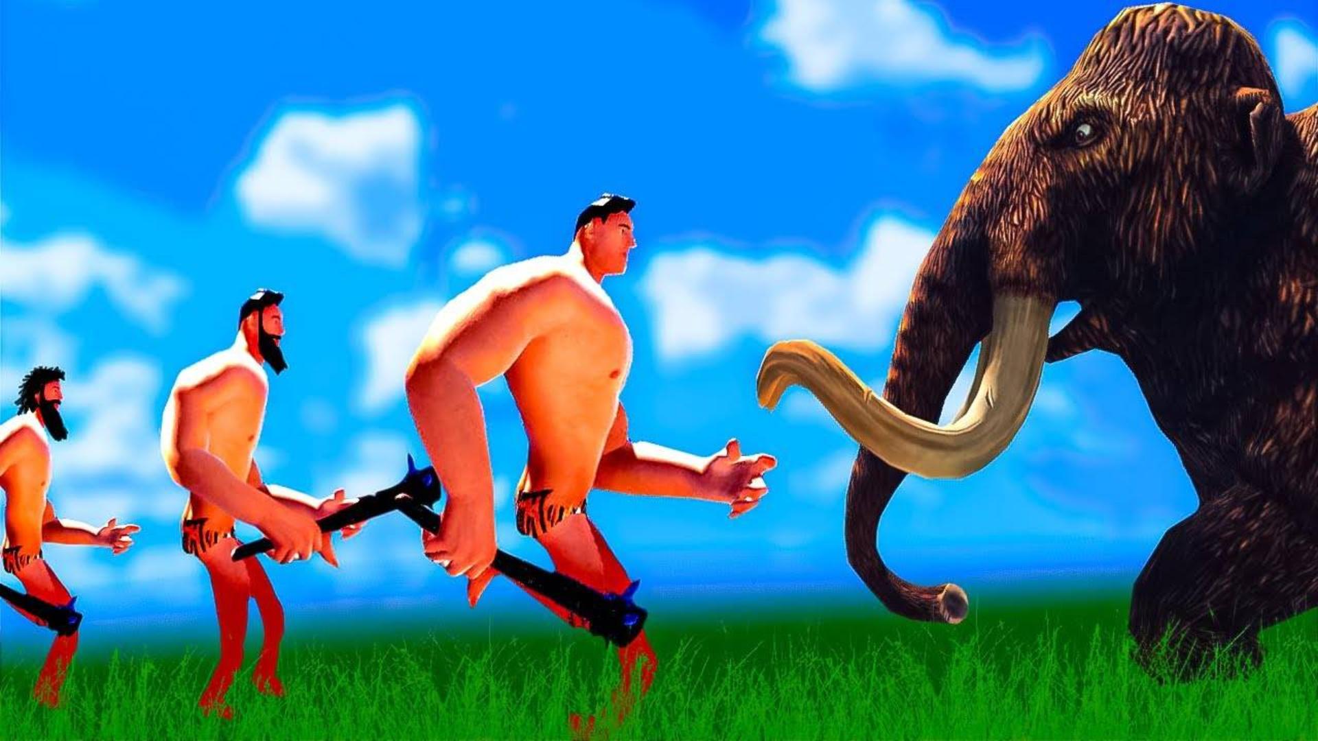 《进化战争模拟器》这一场原始人之间的大战