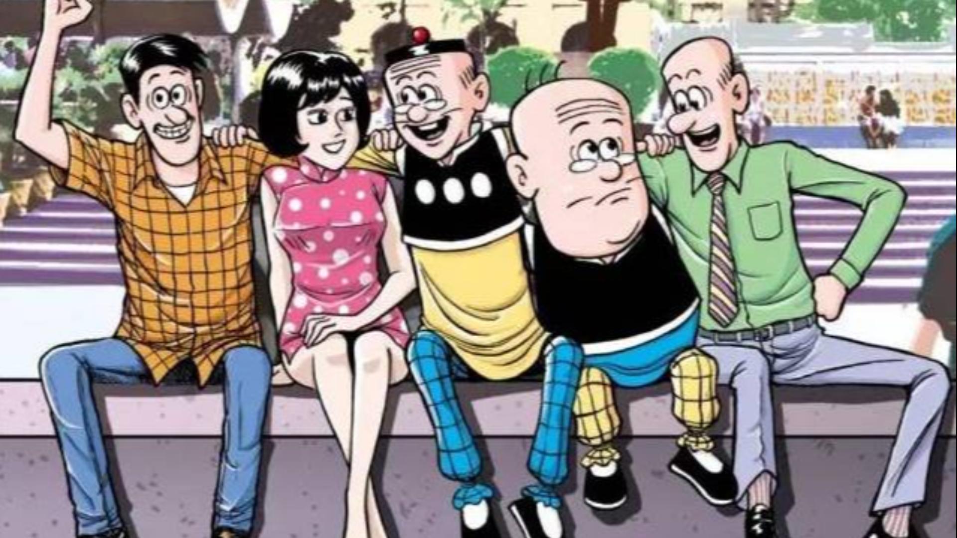 这部国产漫画火热全球超50余年,差点与日漫比肩,却被实锤抄袭让人寒心——《童年时光机》