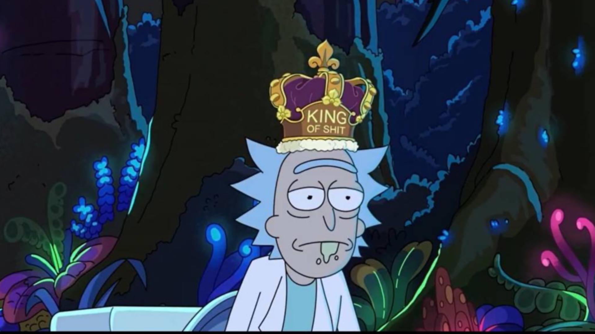 【瑞克和莫蒂】我带着荆棘之冠,坐在骗子的王座上