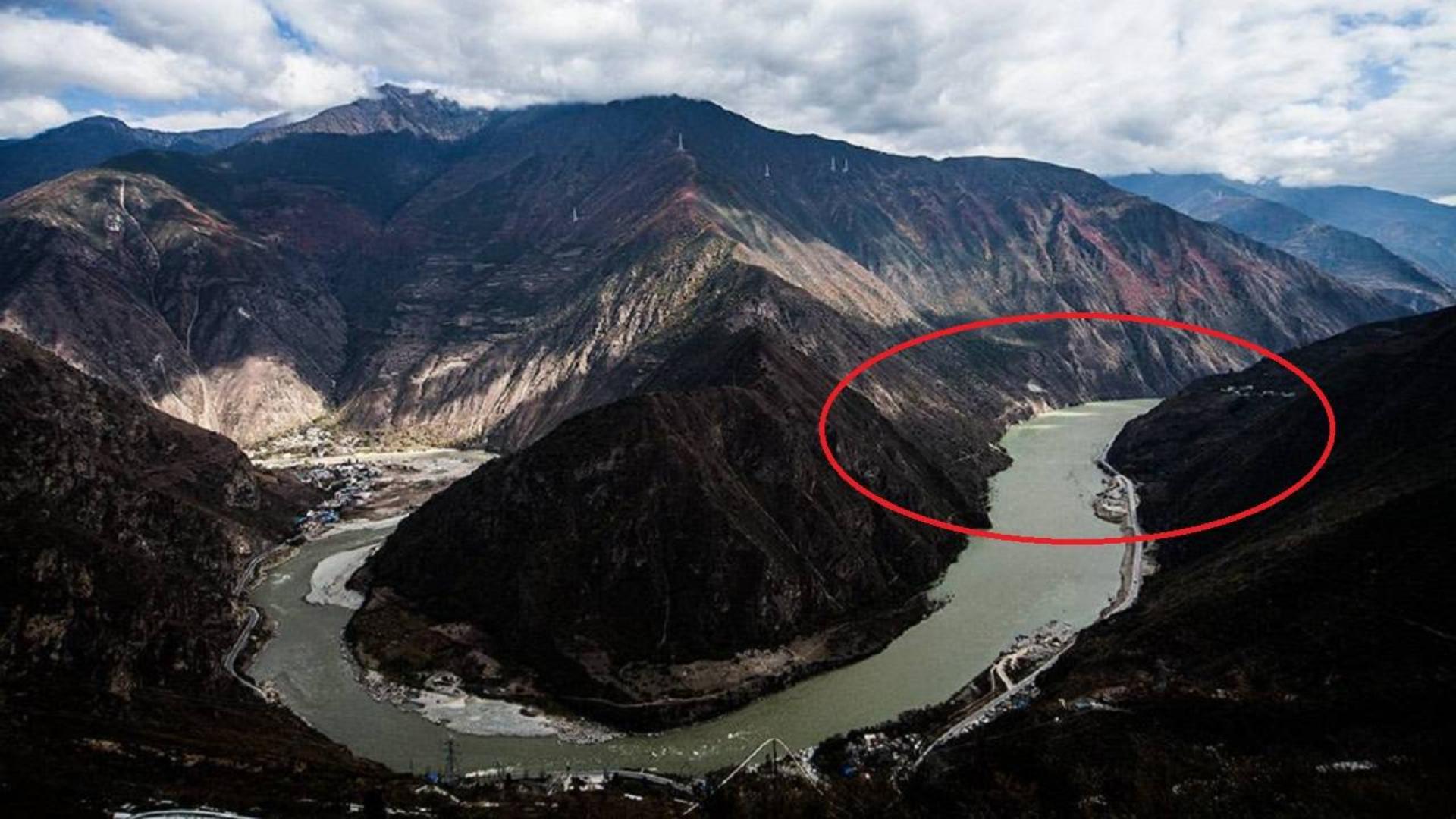 横向截断大渡河,这是中国正在建设的世界最高大坝,年产数十亿千瓦