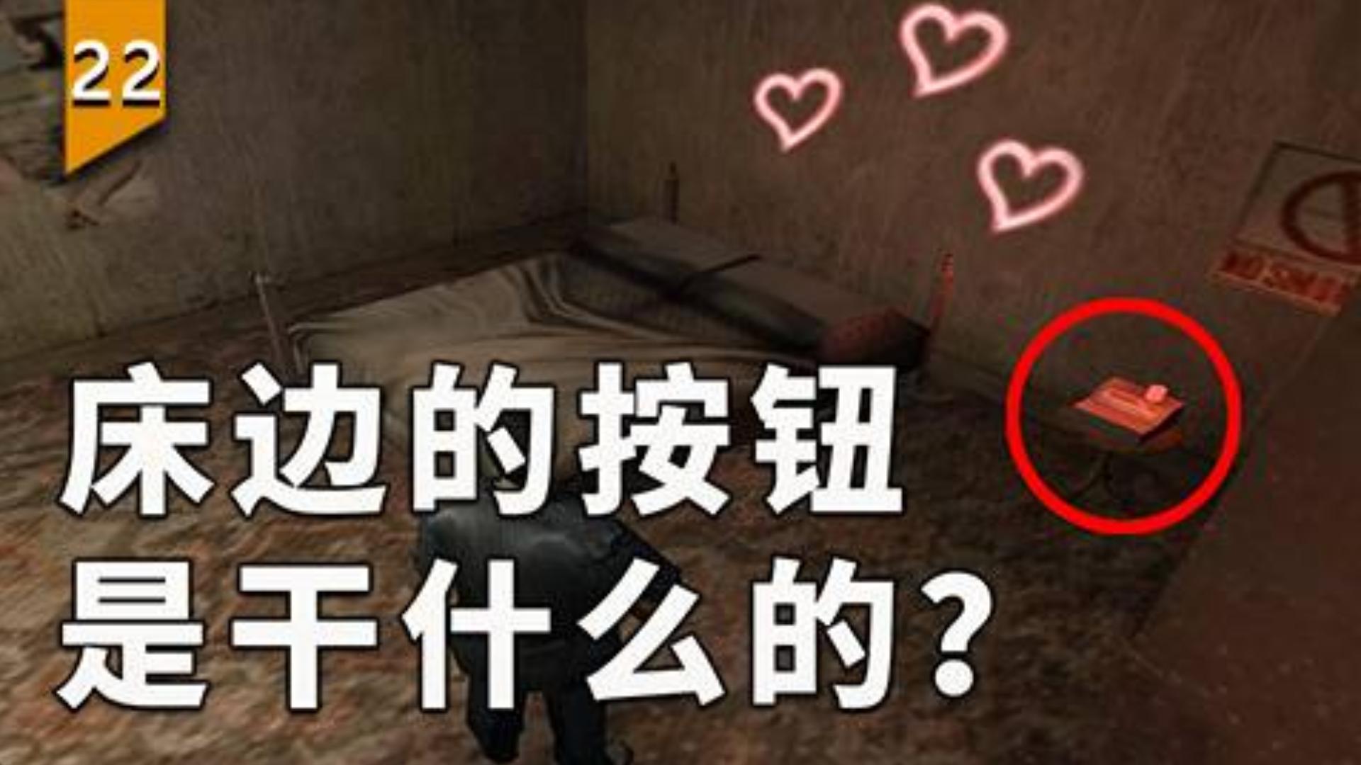 这床边的按钮是干什么的?〖游戏不止〗