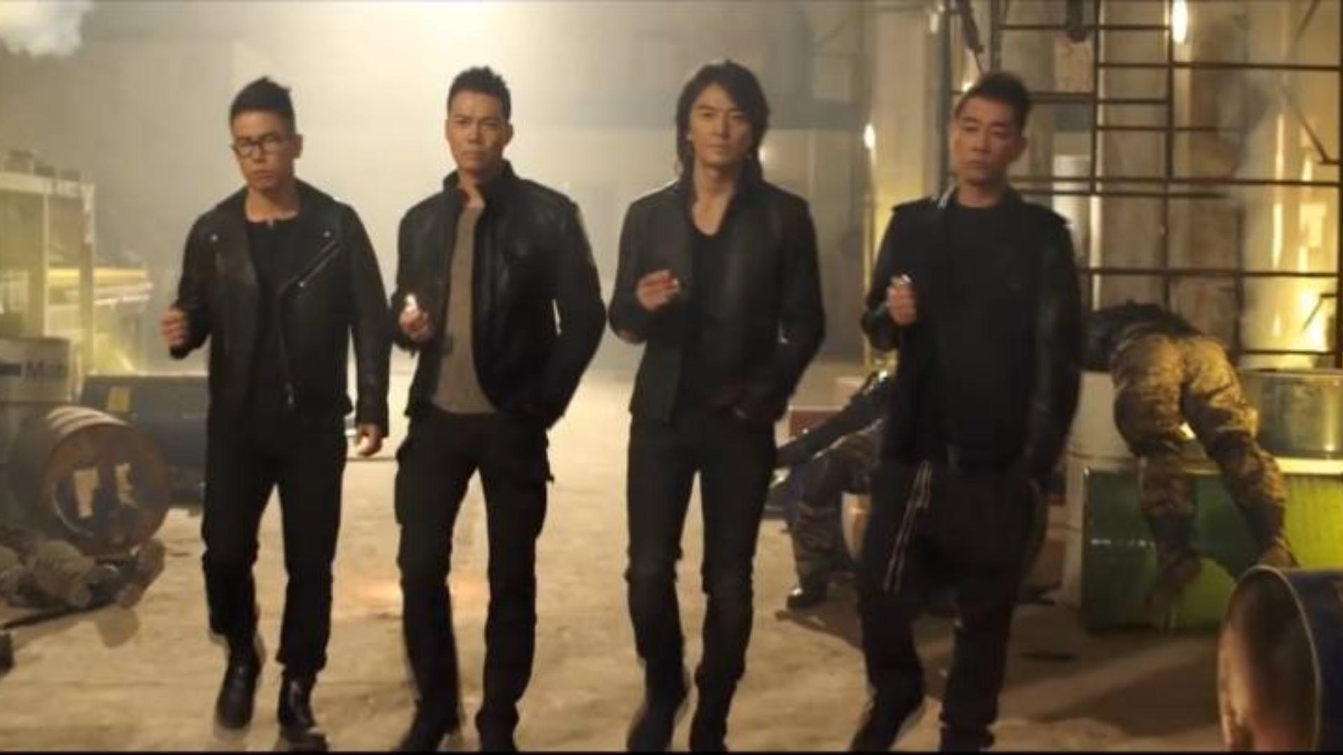 电影出场自带BGM的男人:赌神周润发最经典,陈浩南最热血沸腾