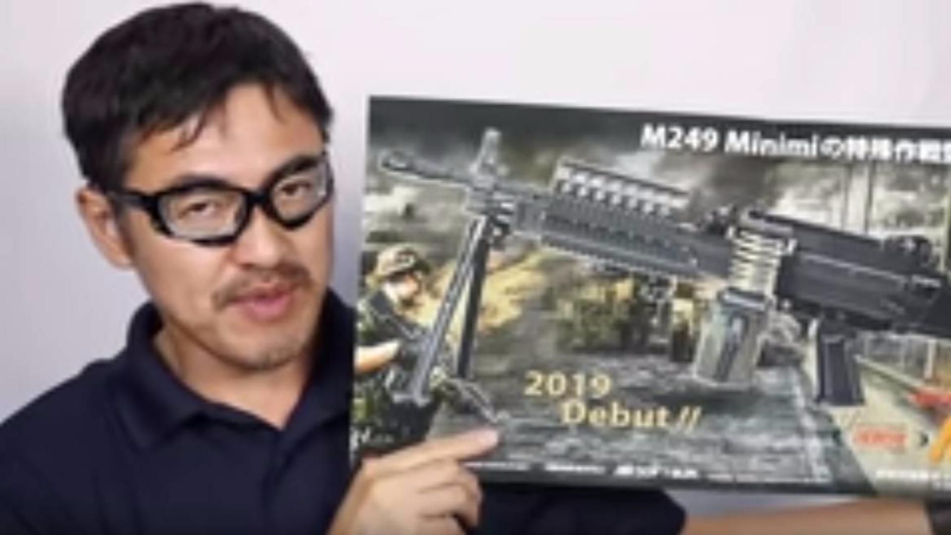 日本壕堺大叔:Mk46 M249 AEG MARUI次世代电动力测评!