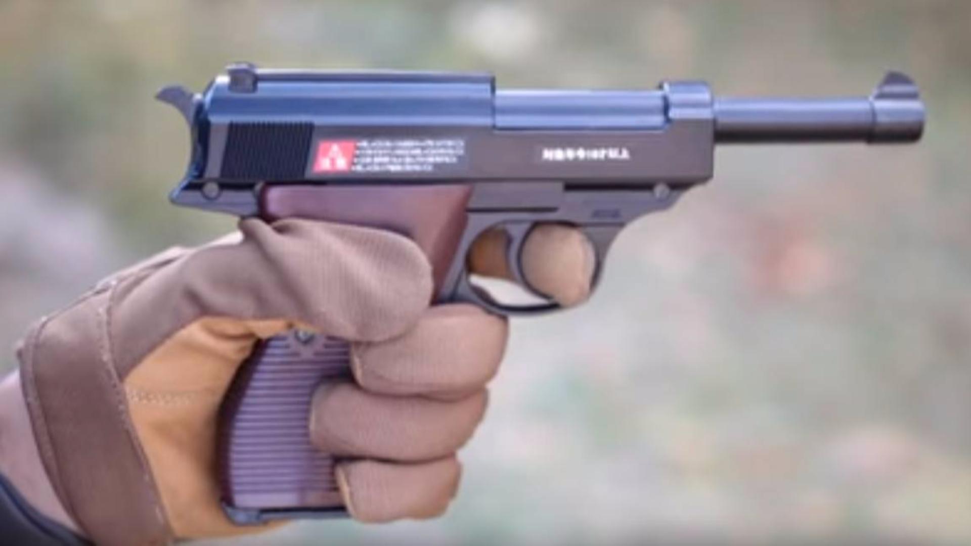 日本壕堺大叔:Walther P38 Marui 测评!