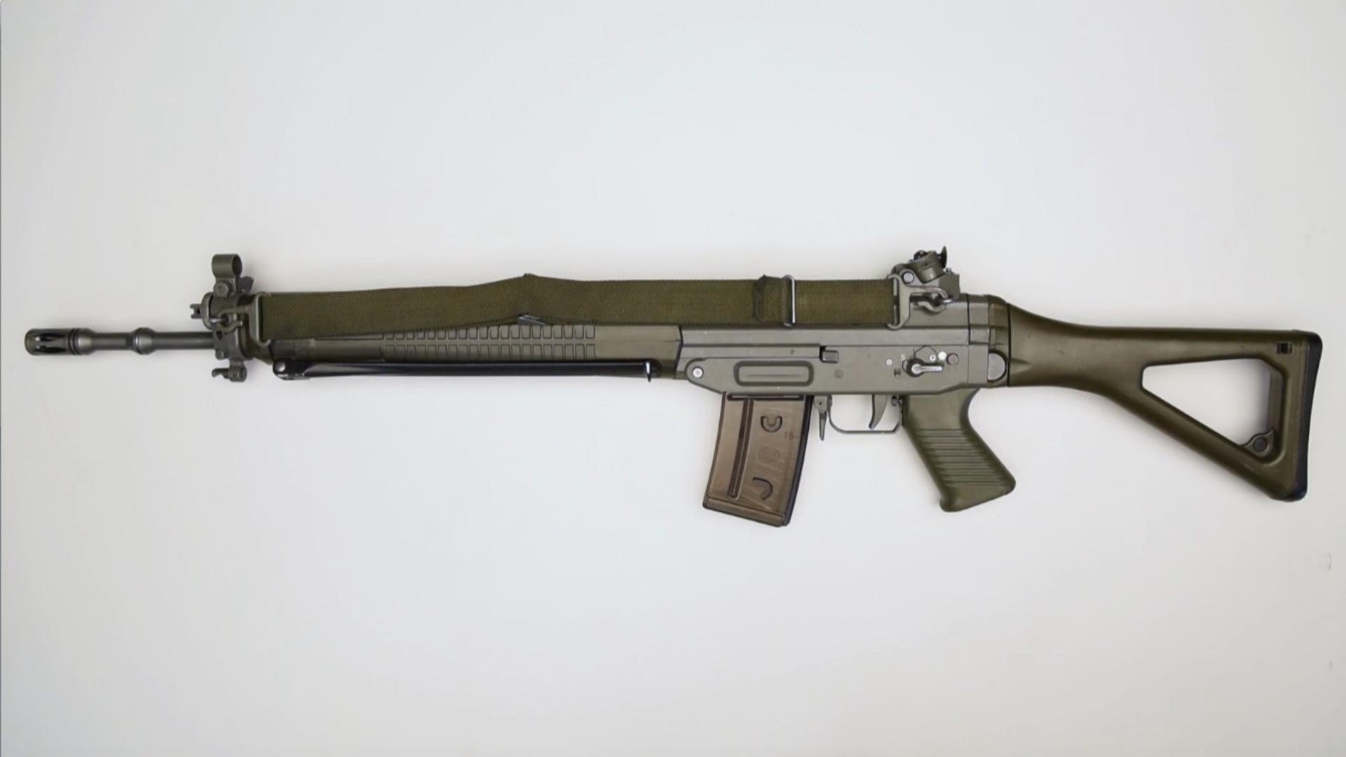 瑞士军工/西格绍尔 SIG SG550突击步枪
