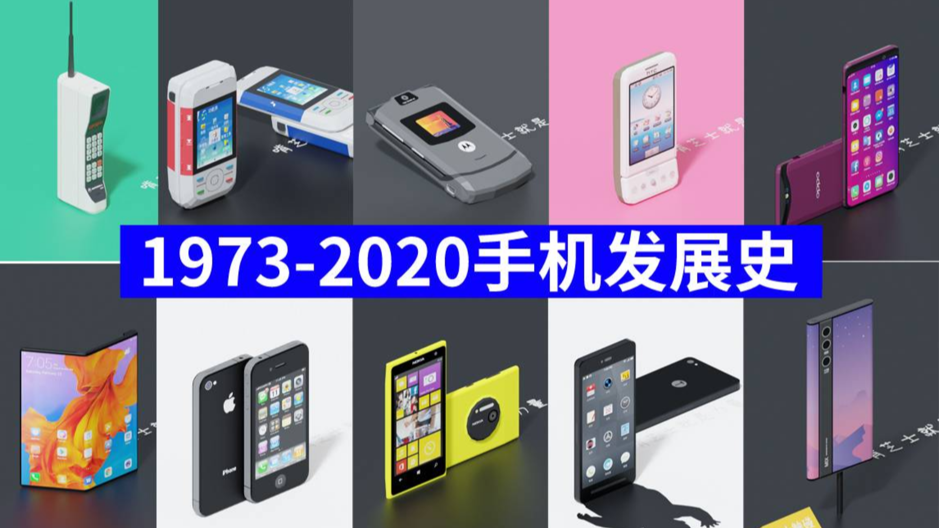 1973—2020年手机发展史