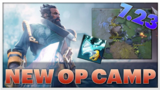 Is that balanced? 7.23 OP camp for Kunkka