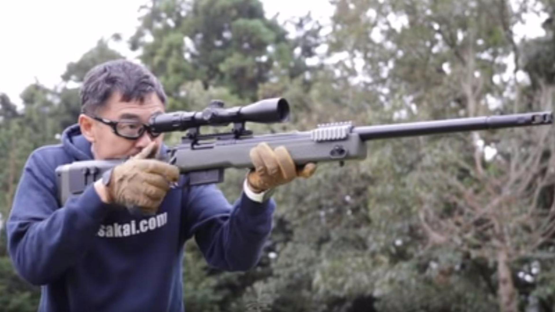 日本壕堺大叔:M40A5螺栓动作马路易!!