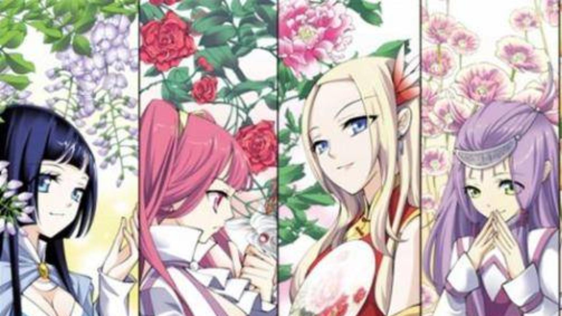斗破苍穹动漫:美女大集结!