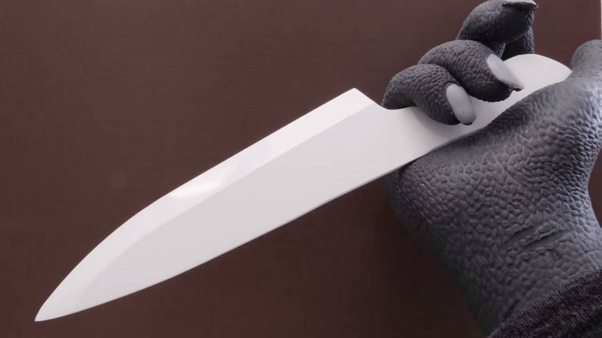 【磨刀小哥】用海水制作一把厨刀