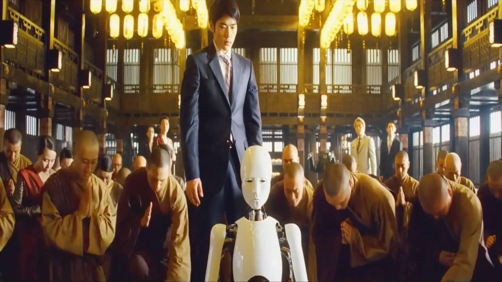 人类逼死了即将成佛的机器人,之后遭到了更高端机器人的报复