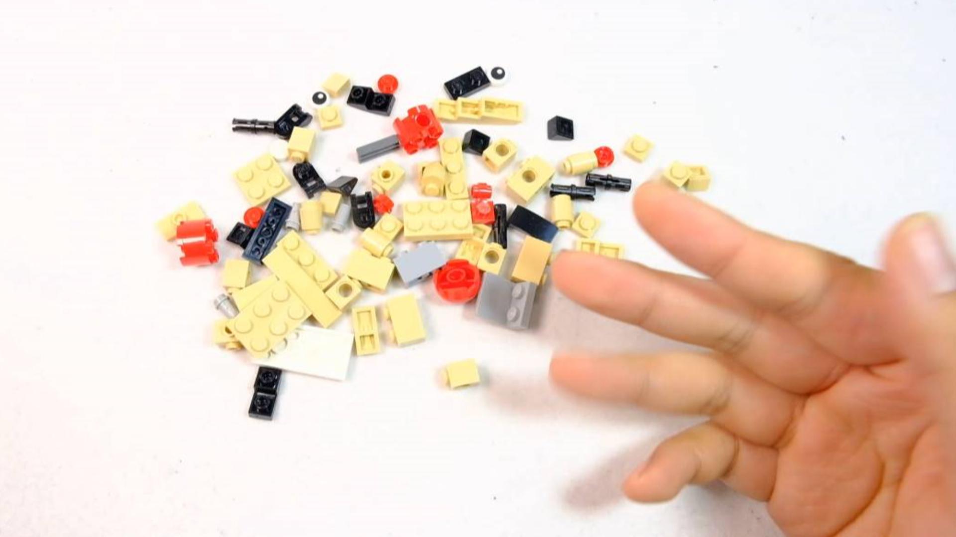 如何用46片乐高零件,搭建一只可爱的考拉?
