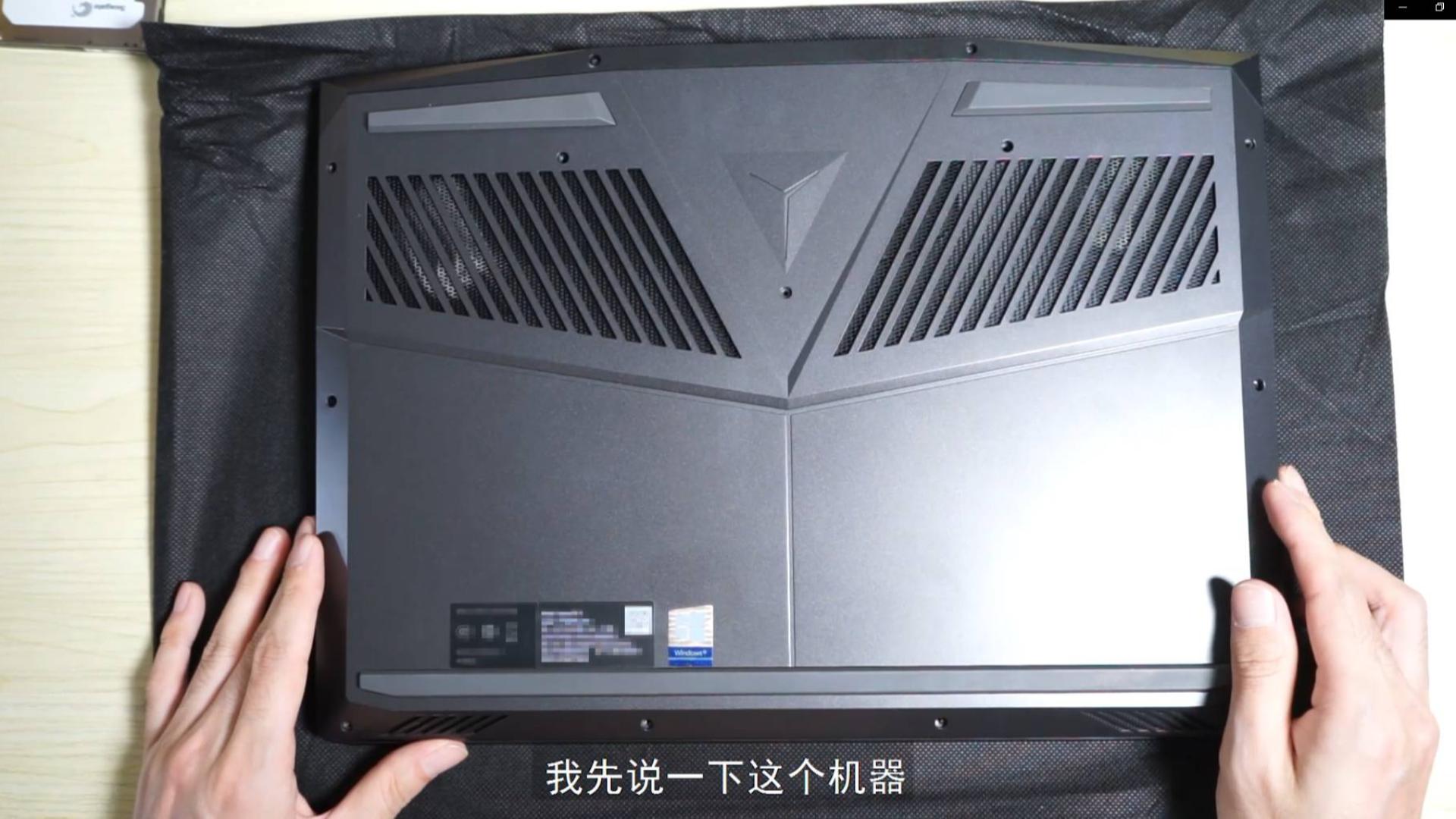 小秋搞机联想拯救者LEGION Y7000P 2019拆机升级内存硬盘清灰维护视频实况