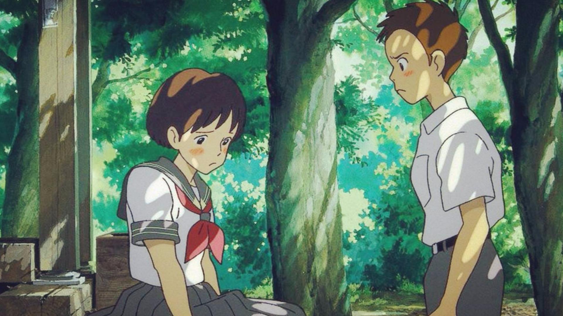 宫崎骏极少有的写实动画,迷茫的时候不妨看看,这才是爱情该有的样子
