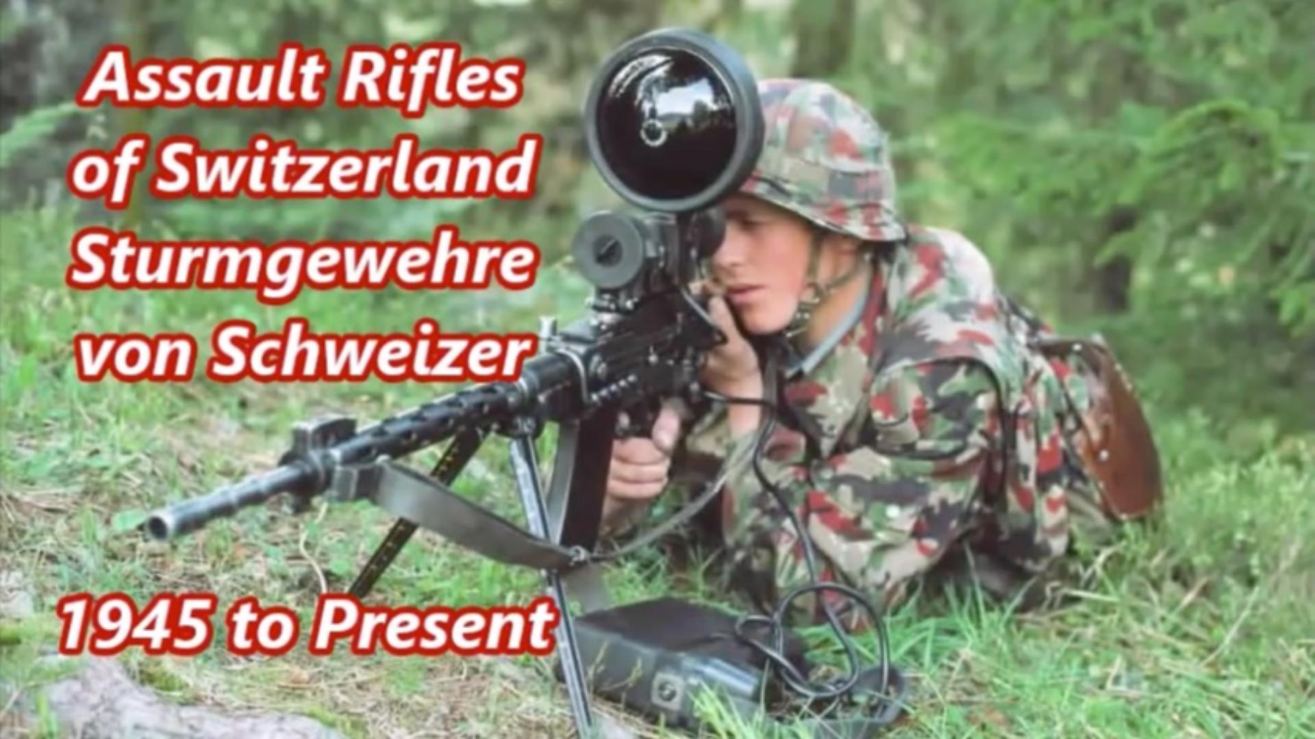 瑞士战斗步枪和突击步枪的历史发展(1945年-今)