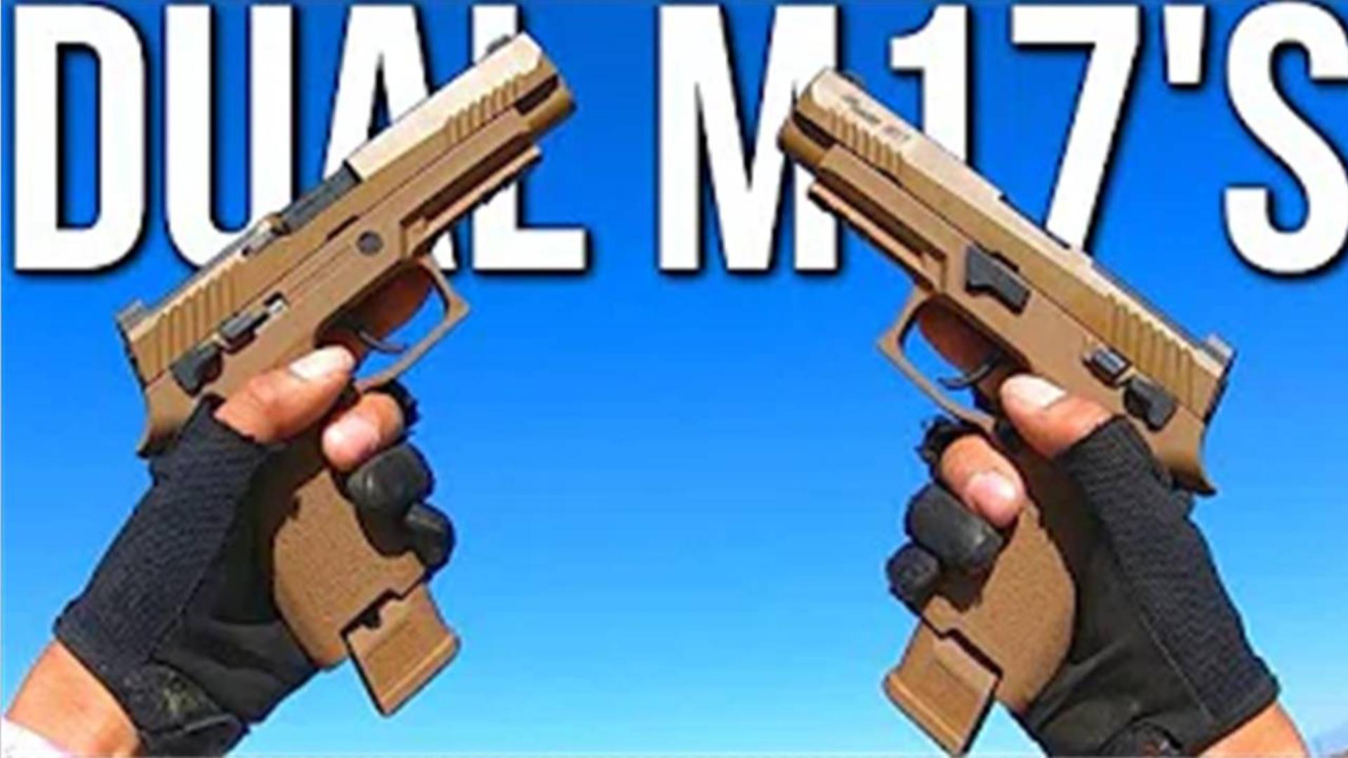 【wargame】美国玩家沙漠狐—双持M17下场