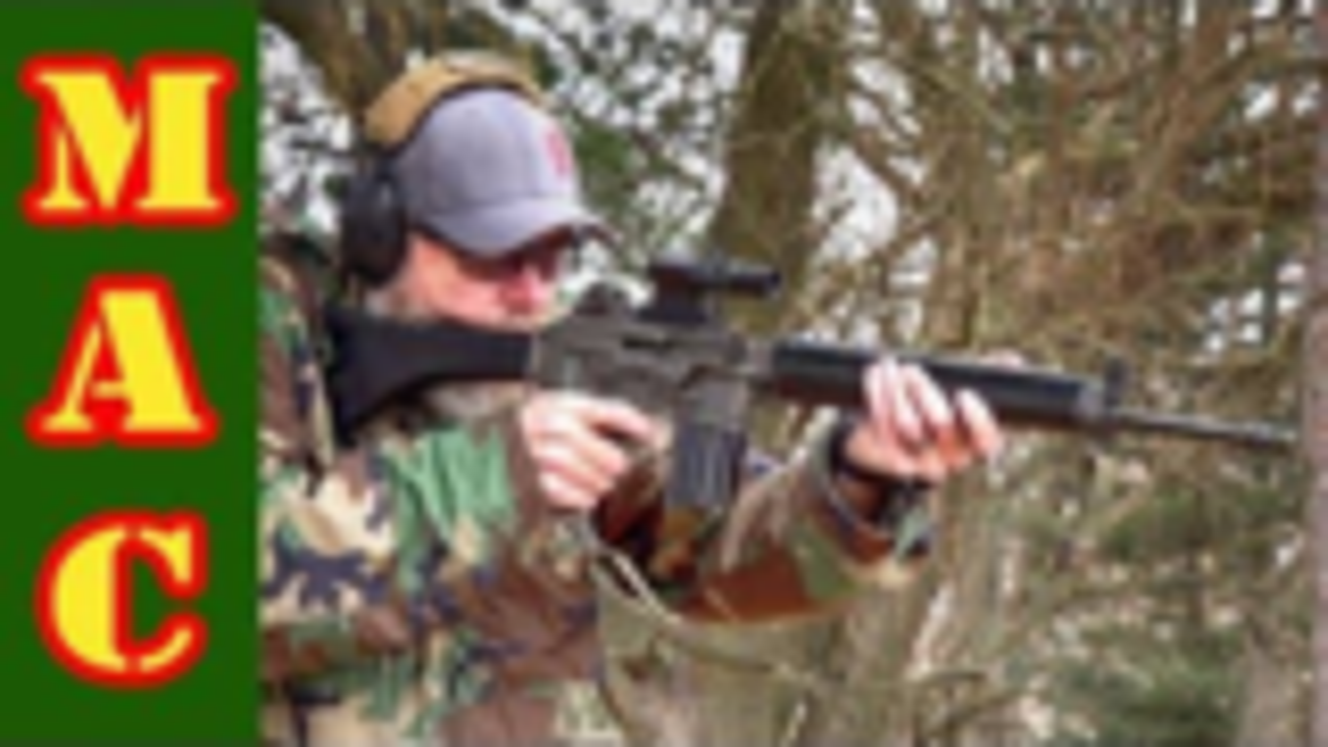 [MAC]全自动AR-18 vs 布劳内尔BRN180步枪
