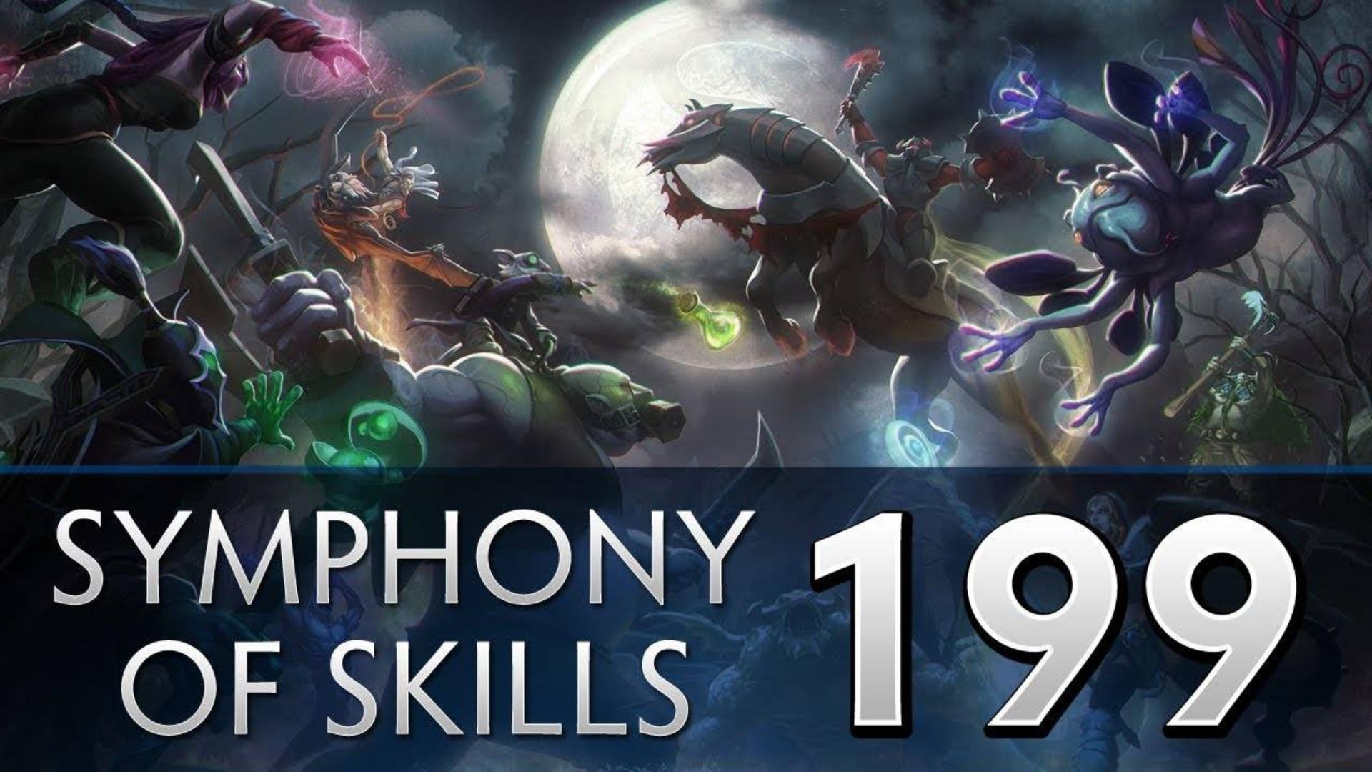 Dota 2 Symphony of Skills 199