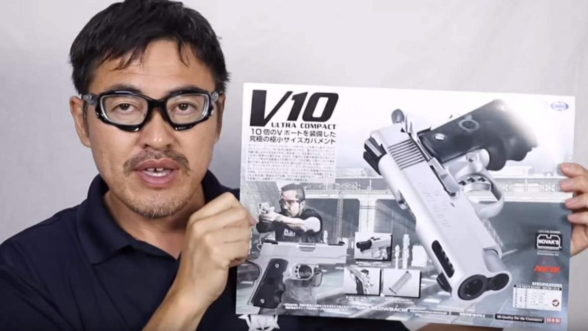 日本壕堺大叔:V10 GBB MARUI东京马尔伊测评!