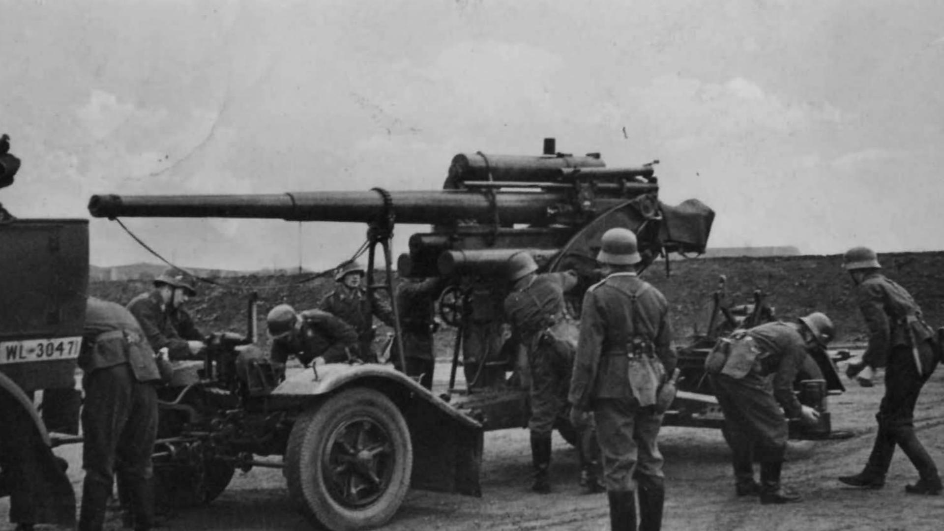 【复盘二战】此炮靠副业威震天下 成为二战传奇兵器