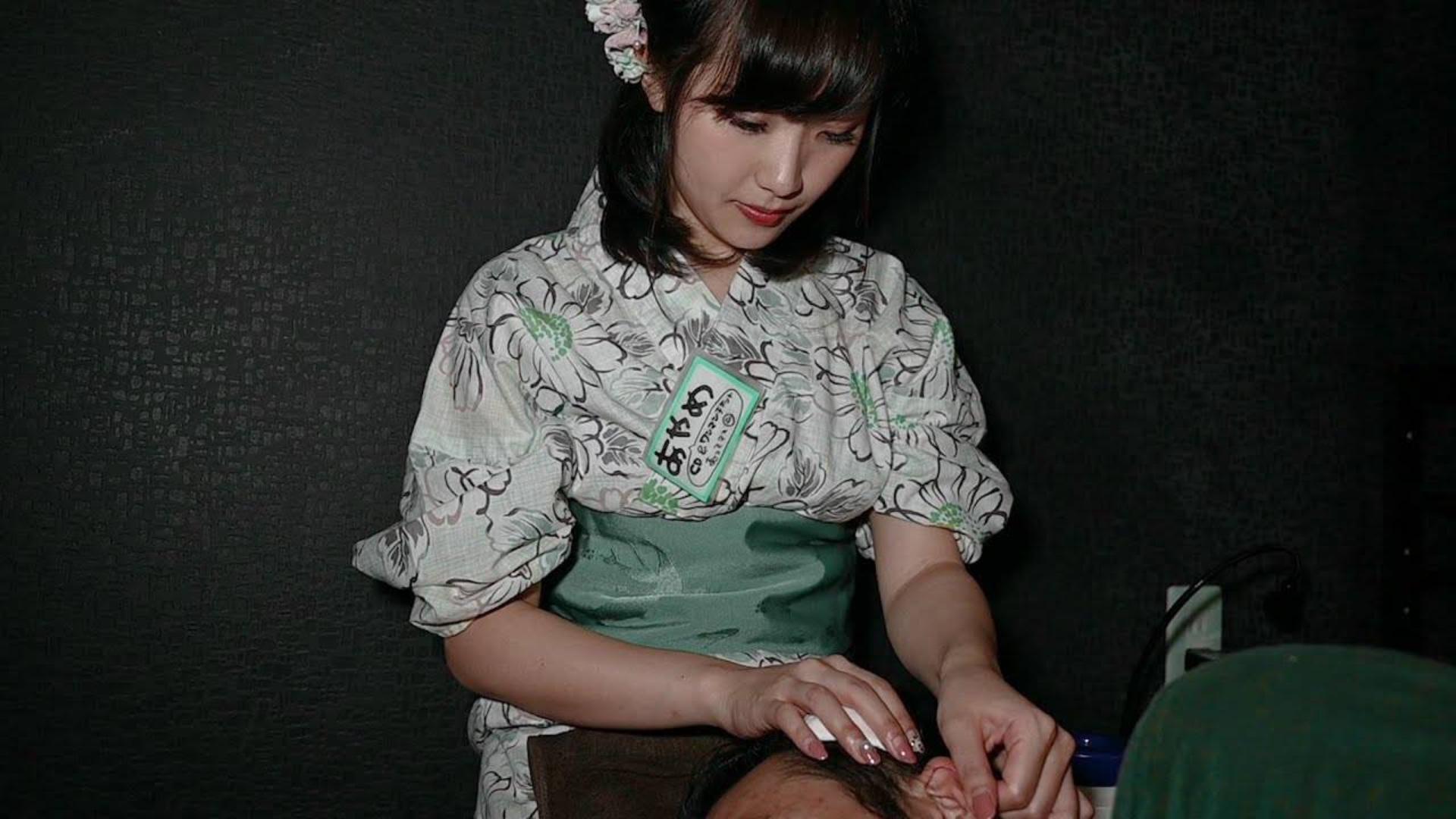 【 助眠】耳掃除 和み屋『耳かき店』を体験