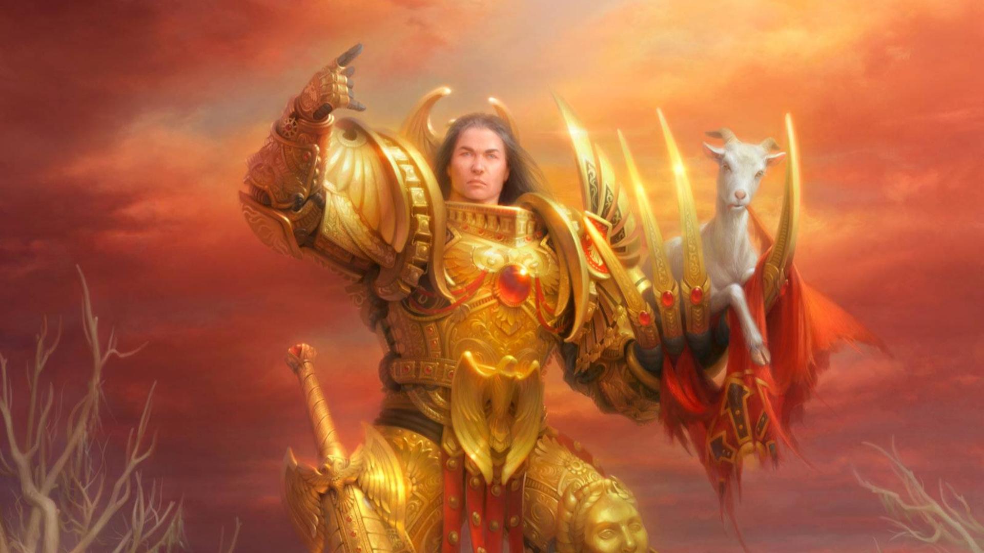 战锤40k 战锤40000 神圣帝皇 人类之主 英灵转世 伟业已铸