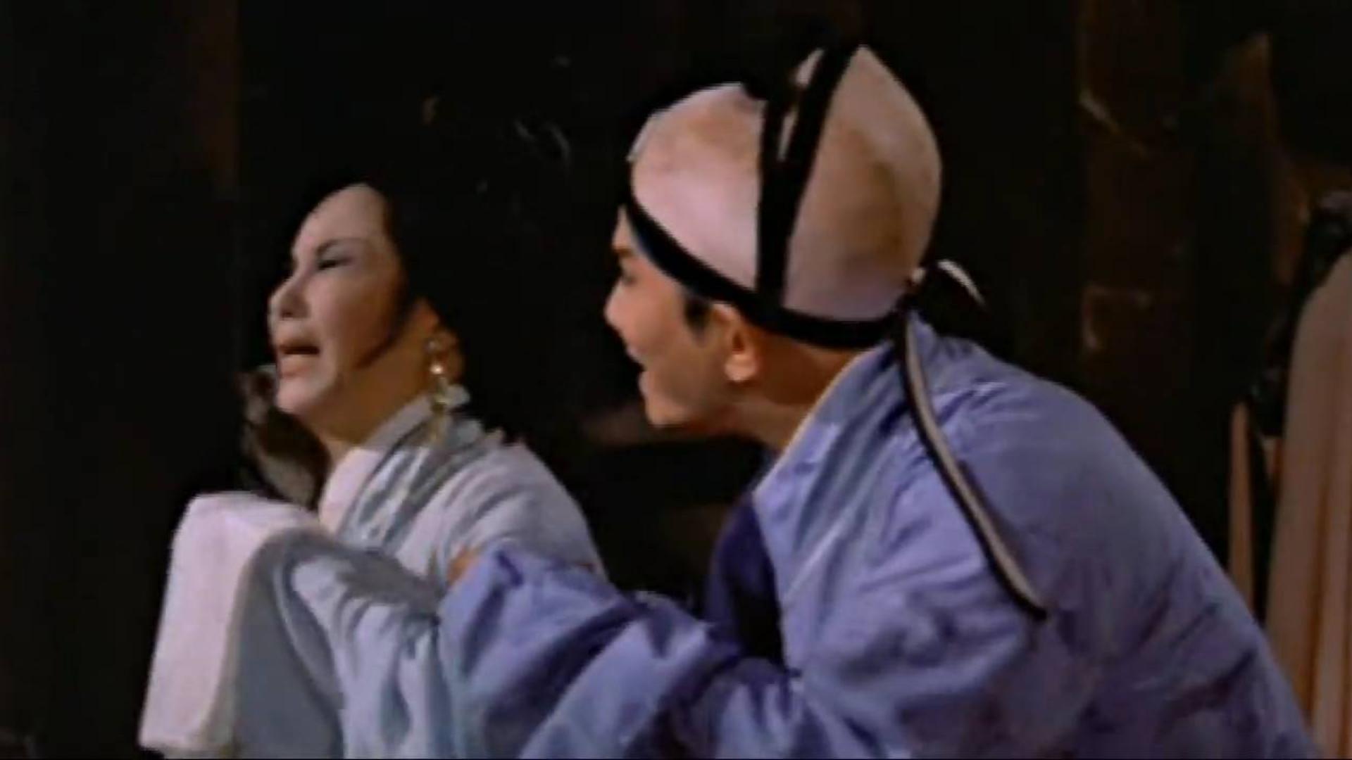 一部邵氏伦理奇幻片,阎惜姣被宋江杀死,变成冤鬼却找徒弟报仇