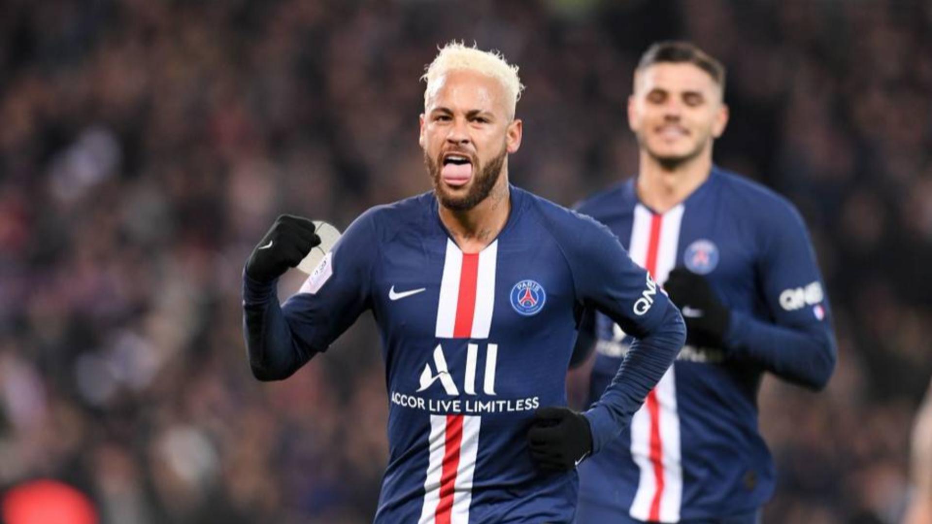 2019-2020赛季法甲第19轮 巴黎圣日耳曼vs摩纳哥 全场集锦