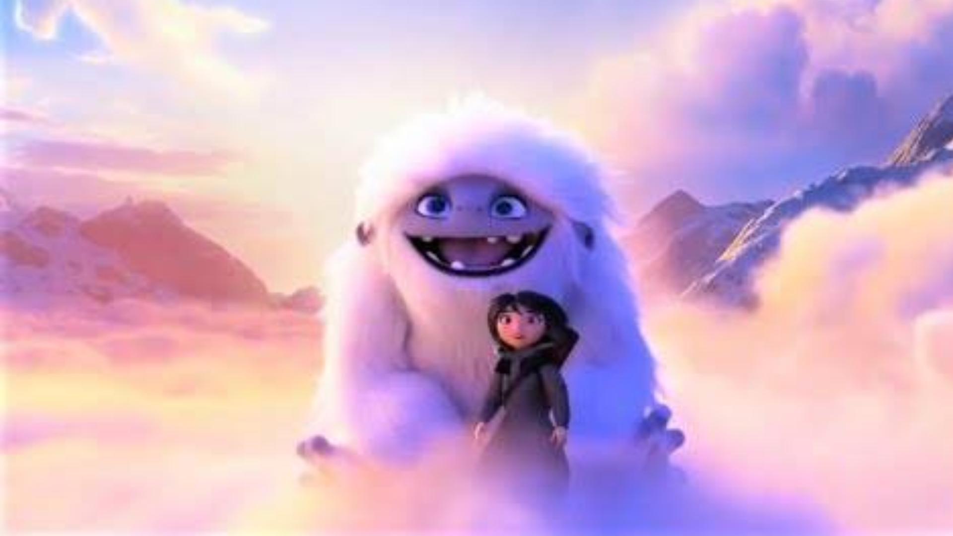 【冷门推荐】来介绍一部雪怪把那个吹大带你上天的动画电影《雪人奇缘》
