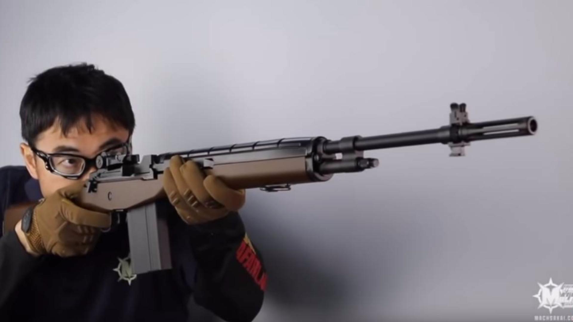 日本壕堺大叔:电动枪篇 持(有)的空气枪介绍Part 1