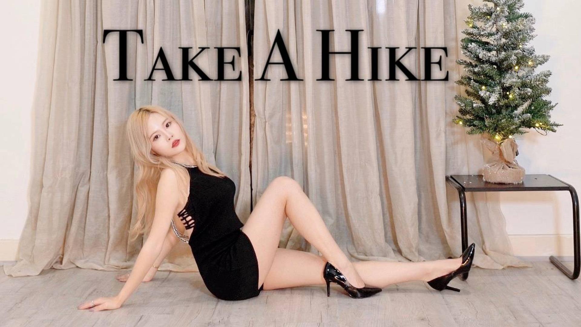 【甜】朴智妍 Take A Hike小黑裙竖屏