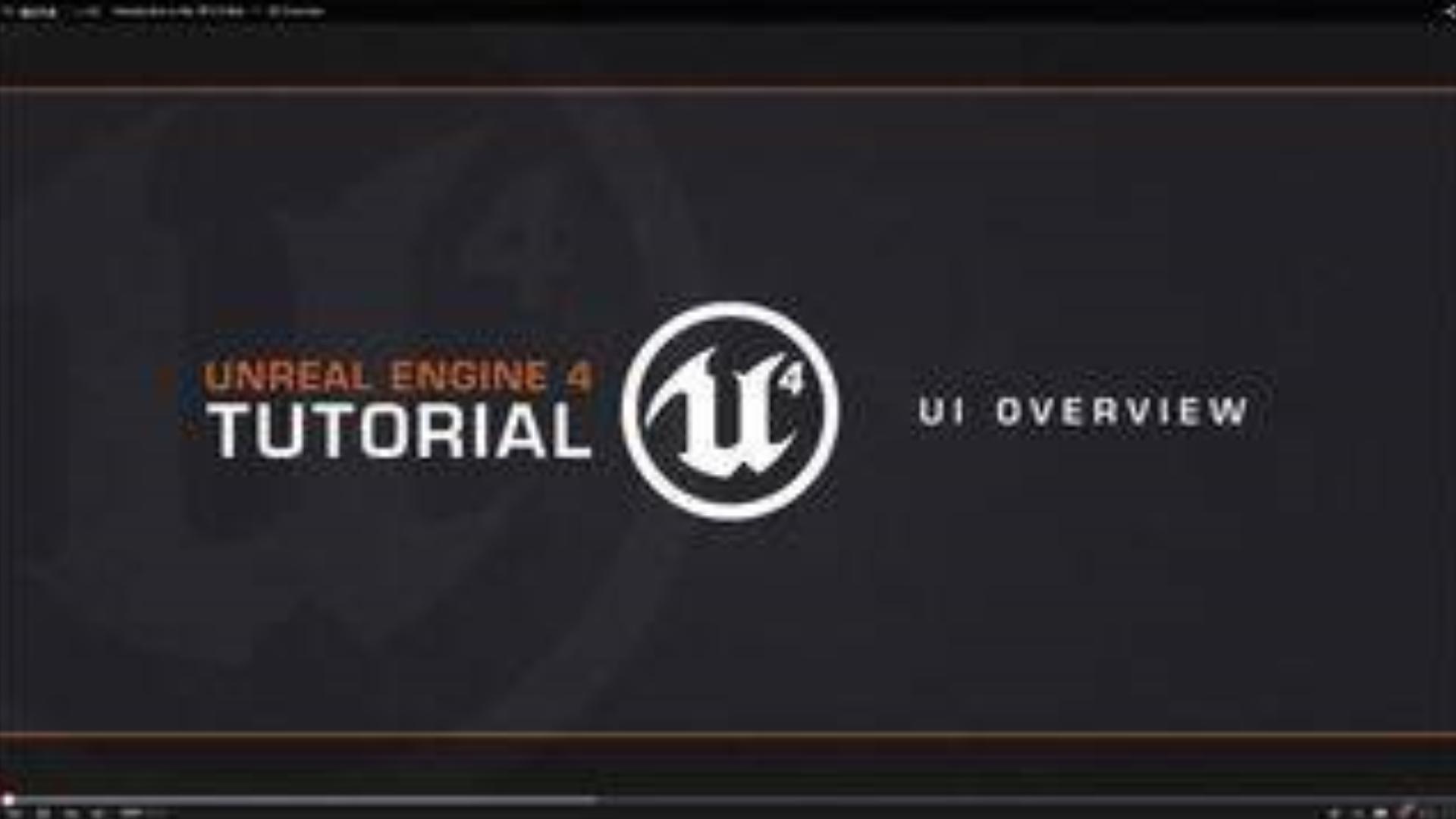 UE4教程-高清-208集(附视频,课件下载链接)