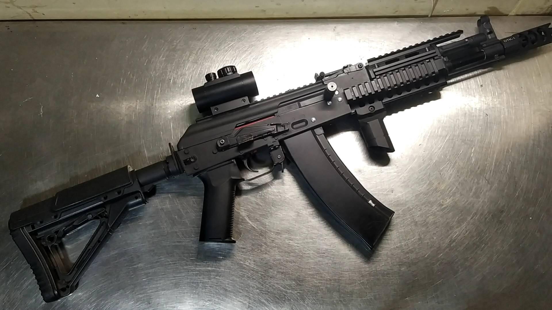 """""""老兵""""AK105的拆解维护、内改讲解。"""