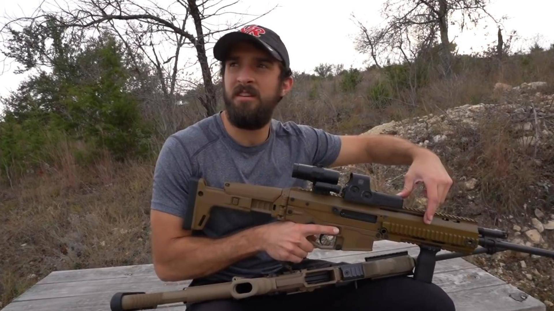 三枪对决 FN SCAR 16S vs ACR And AR15