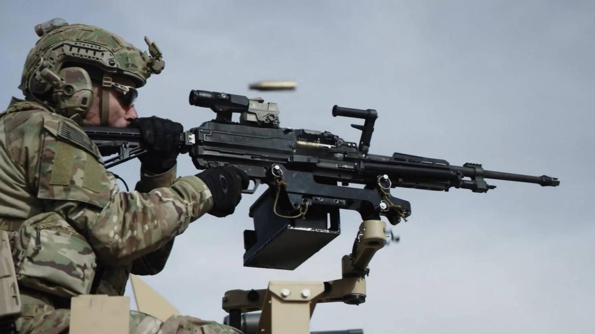 西格·绍尔最新MG338机枪