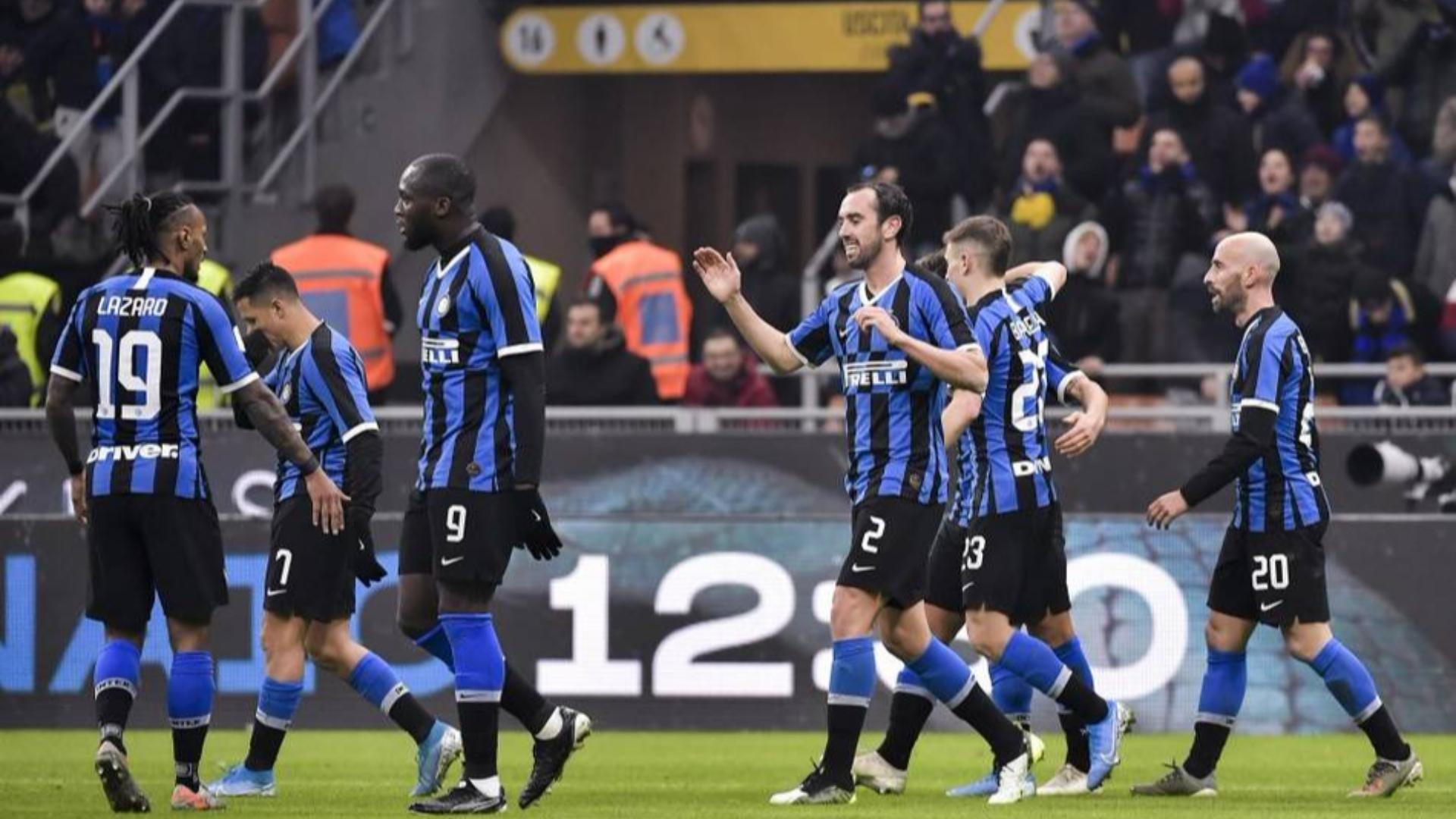 2019-2020赛季意大利杯1/8决赛 国际米兰vs卡利亚里 全场集锦