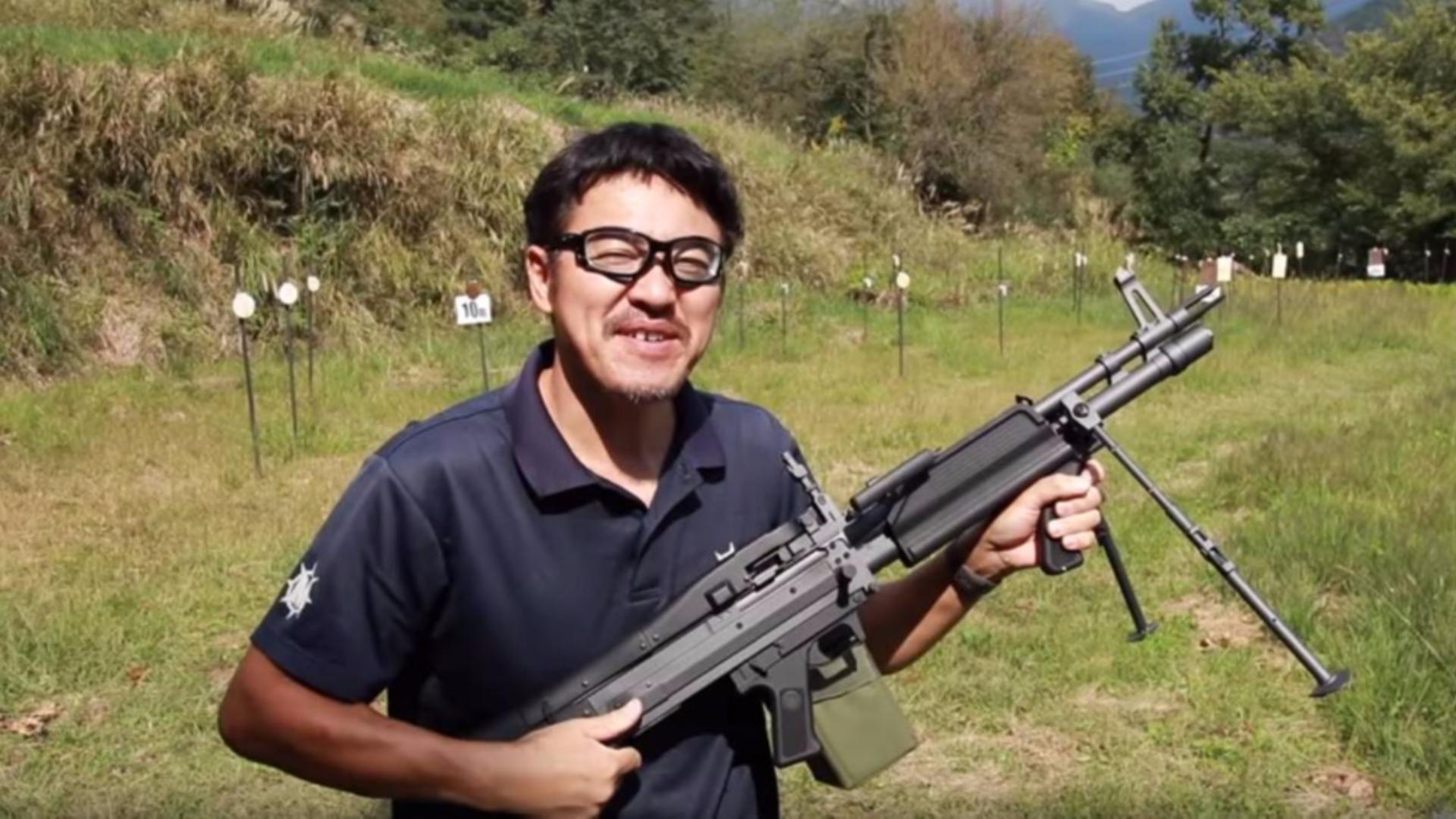 日本壕堺大叔:M60E4(MK43) A&K AEG命中精度