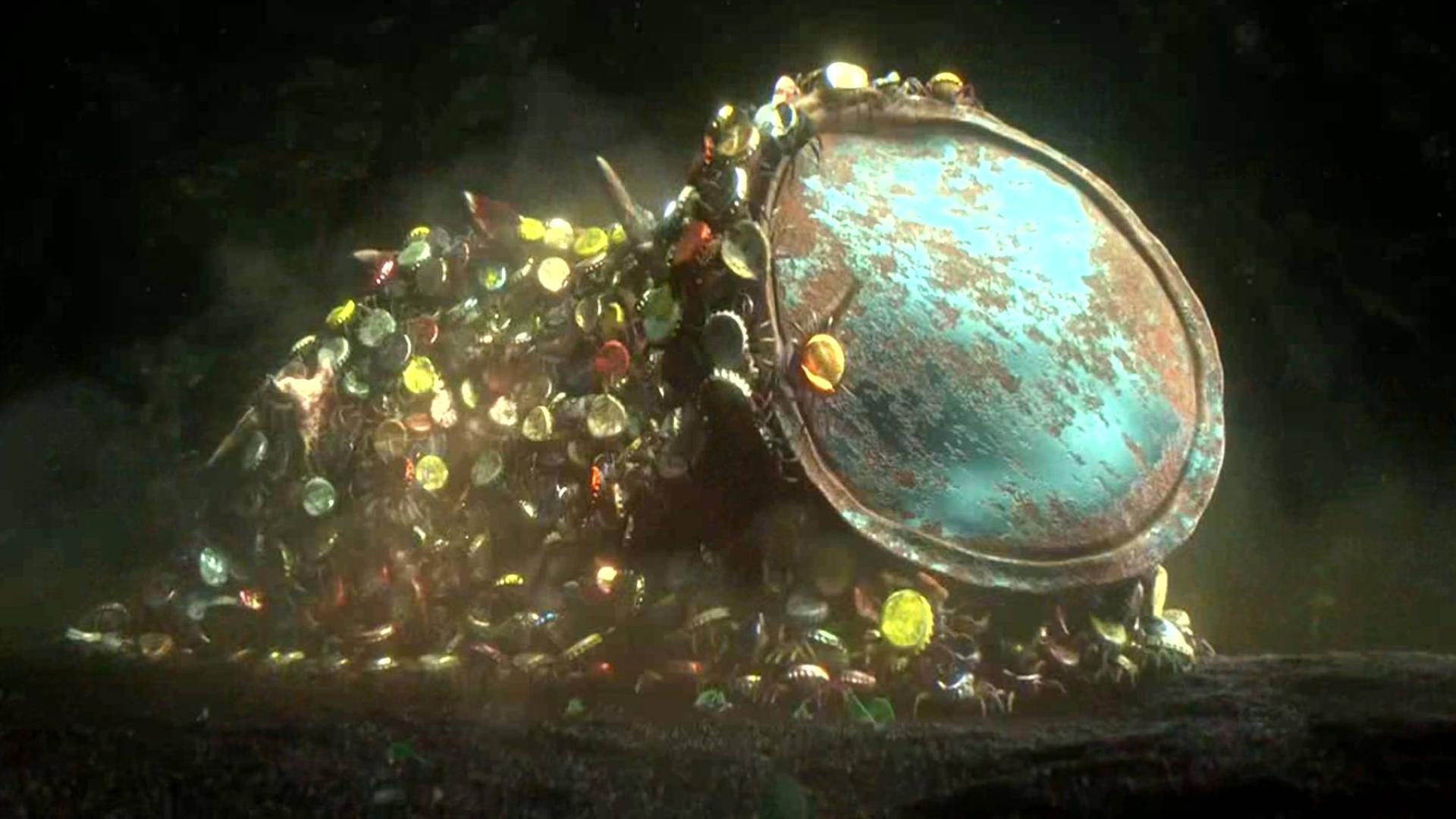 科幻短片:在未来世界,地球机械污染,影响到海底生物的生存!