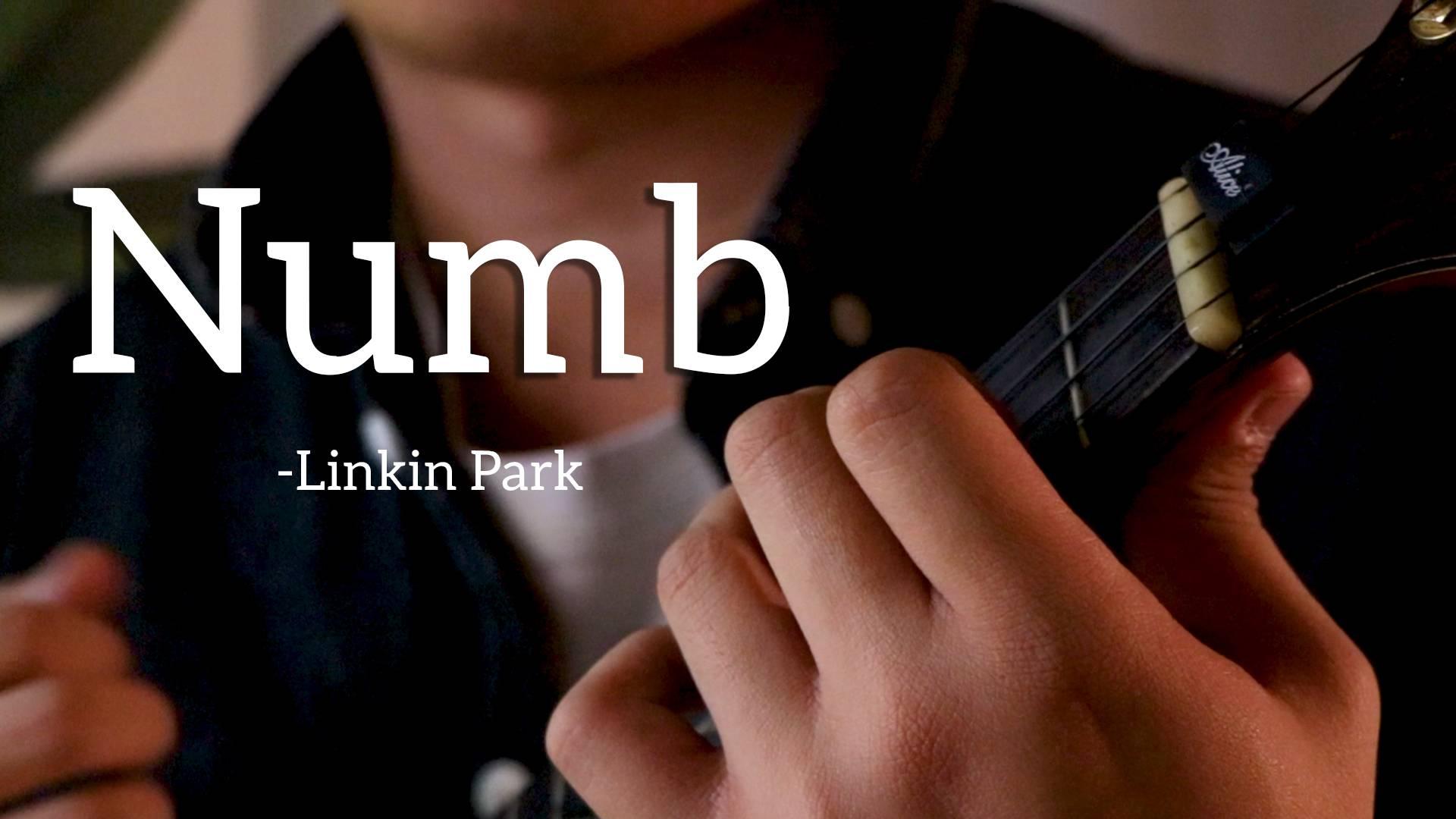 """【尤克里里】《Numb》-Linkin Park""""四弦琴不是只有贝斯"""""""