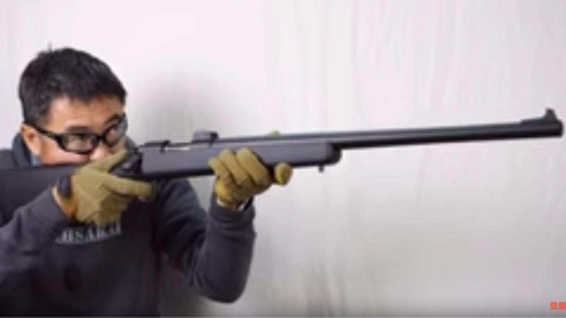 日本壕堺大叔:VSR-10 marui 动作气枪审查